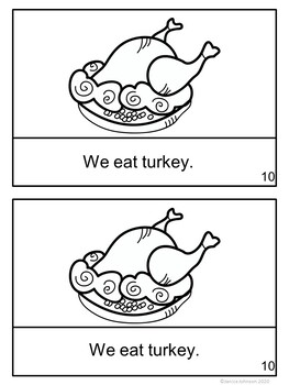 How Do We Celebrate Thanksgiving? Reader & Vocab work