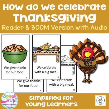 How Do We Celebrate Thanksgiving? Reader & Vocab work