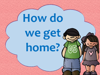 How Do We Get Home? Primary Bilingual Visuals