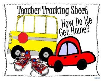 Comment on se rend à la maison? FREE Tracking Sheet