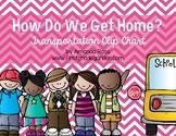How Do We Get Home? {Transportation Clip Chart}
