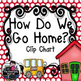 Carpool Clip Chart: Red