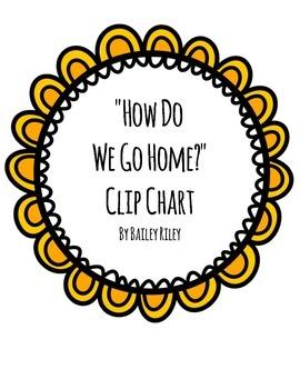 How Do We Go Home? Clip Chart