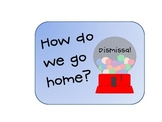 """How Do We Go Home?""- Gumball Dismissal Chart"