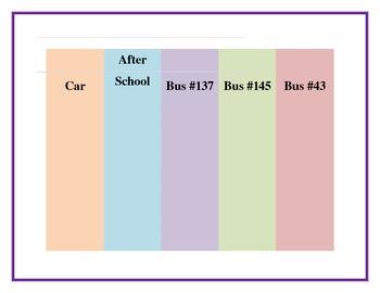 How Do We Go Home Transportation Chart