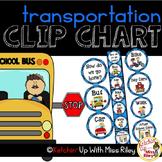 How Do We Go Home? Transportation Clip Chart