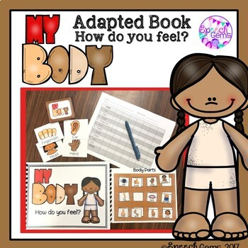 An Adapted Body Parts Book