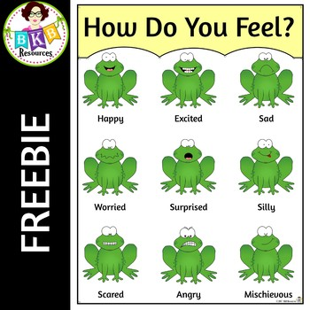 How Do You Feel? ● Frog Poster ● Emotions