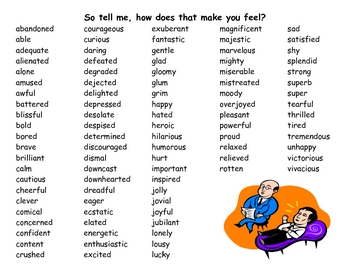 How Do You Feel? - Word Wall with Feelings Words