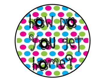 How Do You Get Home Bright Polka Dots