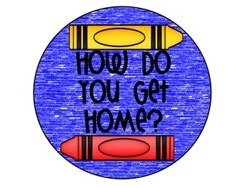 How Do You Get Home Crayon Posters