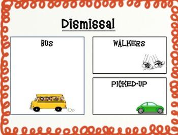 How Do You Get Home? Dismissal Form