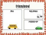 How Do You Get Home? Dismissal Form