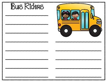 How Do You Get Home From School? Transporation Charts