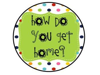How Do You Get Home Rainbow Polka Dot