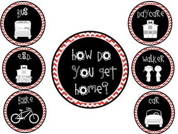 How Do You Get Home Red and Black Chevron