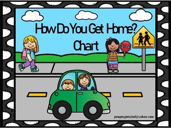 How Do You Go Home?  Black Polka Dots