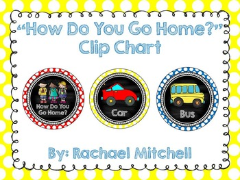 How Do You Go Home? Clip Chart & Lunch Clip Chart BUNDLE- Custom Made for You!