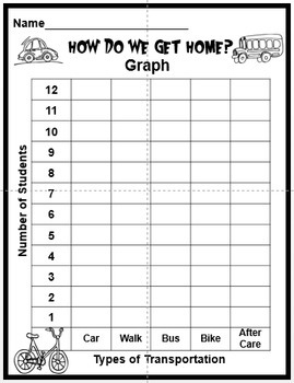 How Do You Go Home Clip Chart and Math Graphing