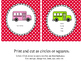 Editable: How Do You Go Home?  Polka Dot Posters and Backpack Tags