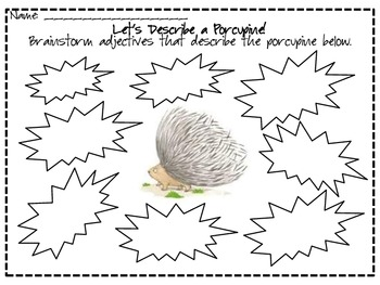 How Do You Hug A Porcupine? Math & ELA Unit