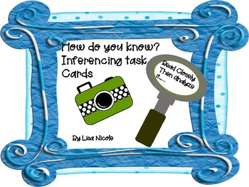 Inferencing: How Do You Know?