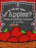 How Do You Like Them Apples? [Apple Themed Centers for Kindergarten]