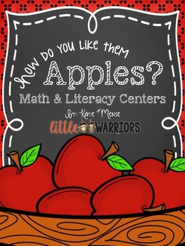 How Do You Like Them Apples? [Apple Themed Centers for Kindergarten]
