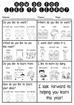 How Do You Like To Learn