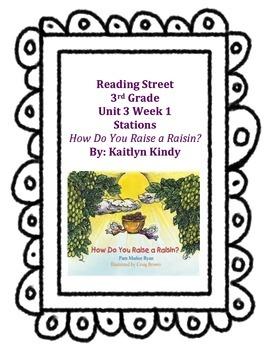 How Do You Raise a Raisin? Reading Street Unit 3 Week 1