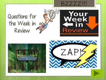 How Do You Raise a Raisin Zap Review Game (Assessment)