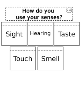 How Do You Use Your Senses? Interactive Journal