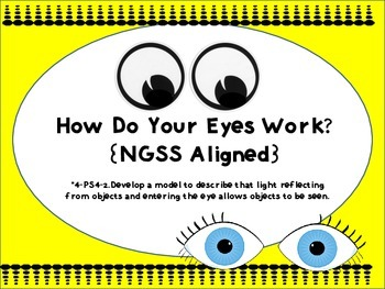 How Do Your Eyes Work? {NGSS Aligned-PS4-2}