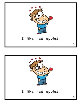 How Do Your Like Your Apples Guided Reader for Fall