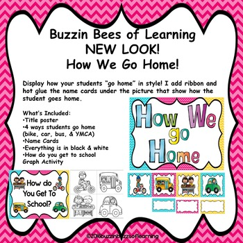 How Do you go Home and get to school? Poster & Activity
