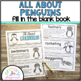 All About Penguins  ~ Fill in the Blank Book