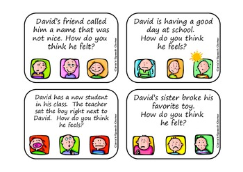How Does David Feel?  A Pragmatic Language Activity