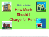 How Much Should I Charge? Math in Action series.