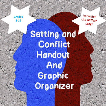 How Does Setting Contribute To Conflicts?  Handout and Graphic Organizers (HS)