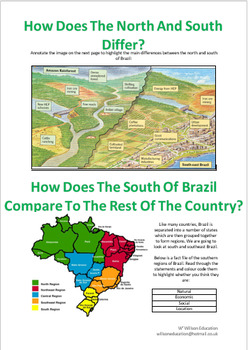 How Does The South Of Brazil Compare to The Rest Of The Country?