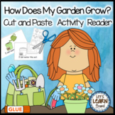 Garden Emergent Reader Cut & Paste Garden Themed Activitie