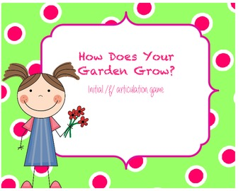 How Does Your Garden Grow - Artic /f/