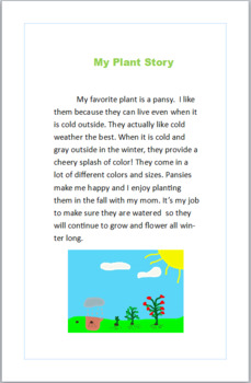 How Does Your Garden Grow Microsoft Publisher Project