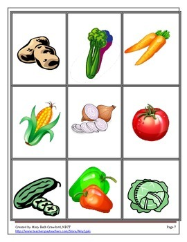 How Does Your Salad Grow? {Comprehension and Written Response Activities}