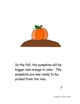 How Does a Pumpkin Grow? Reader