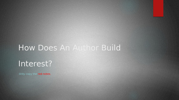 How Does an Author Build Interest: A guide to Introductions