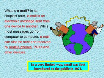 How E-mail Works