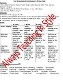 How Ecosystems Work and Organized Vocabulary Photo Album (Editable)