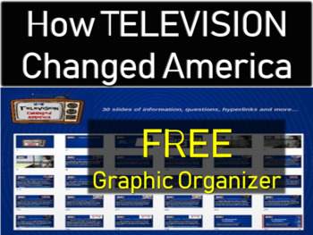 How FREE GRAPHIC ORGANIZER FOR - How Television Changed America