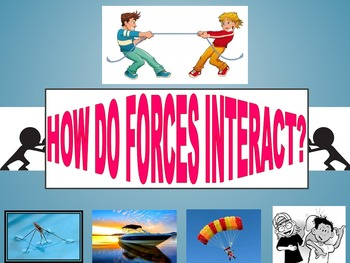 How Forces Interact (Powerpoint & Mini-Activities)